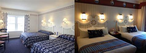 chambre standard hotel york disney disney 39 s newport bay entre en rénovation à disneyland
