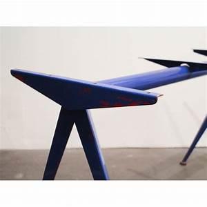 Table Jean Prouvé : table compas jean prouve 1953 design market ~ Melissatoandfro.com Idées de Décoration