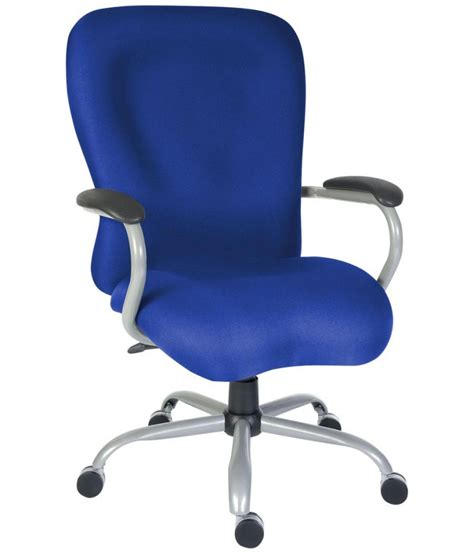 titan heavy duty office chair blue b990kv