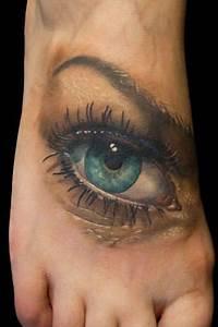 Realistic Eye Tattoos Watch Over The World  U00ab Tattoo
