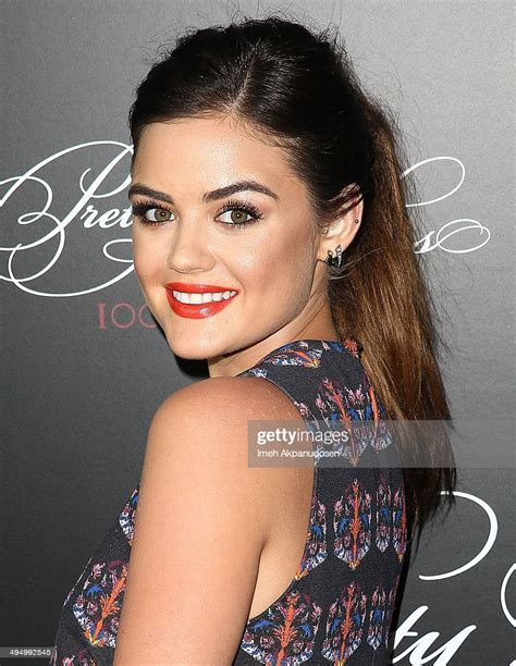 Actress/singer Lucy Hale attends the 'Pretty Little Liars ...