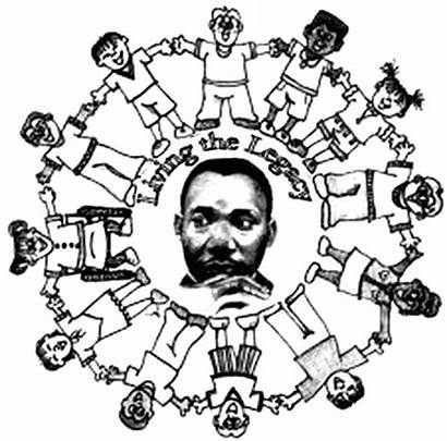 Coloring Luther Martin King Jr Printable Pages
