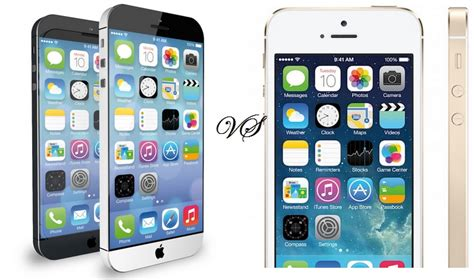 iphone 6 vs iphone 5s iphone 5s vs iphone 6 features comparison
