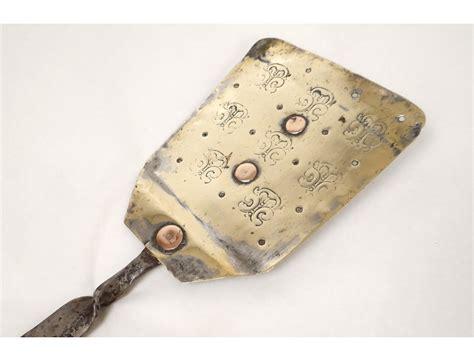 pelle cuisine pelle de cuisine cuivre fer forgé fleurs antique copper