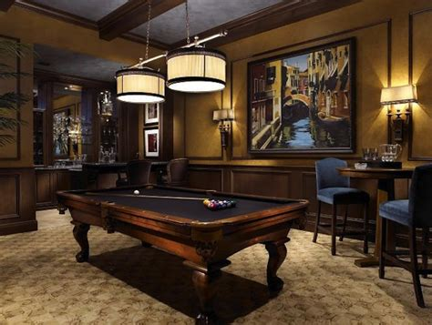 space for pool table pub tables in the game room