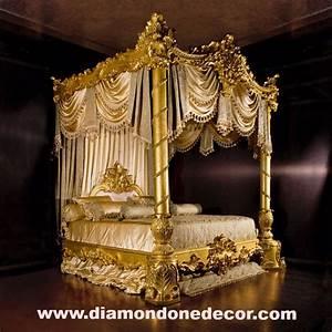 QuotNightingalequot Baroque Luxury Gold Leaf Rococo French