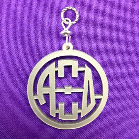 licensed alpha xi delta acrylic letter pendant pinned  pinetsycom  images monogram