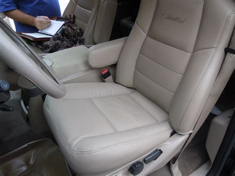 2003 Ford Excursion Replacement Leather Seat Cover