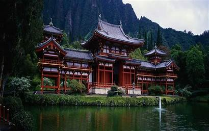 Temple Chinese Nature Mountains Asia Architecture Wallpapers