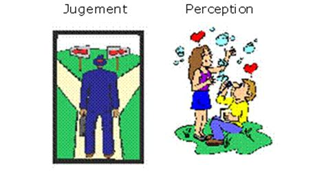 bureau de jugement mbti mode d 39 jugement j perception p