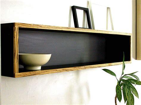 black wall shelf black wooden wall mounted shelves