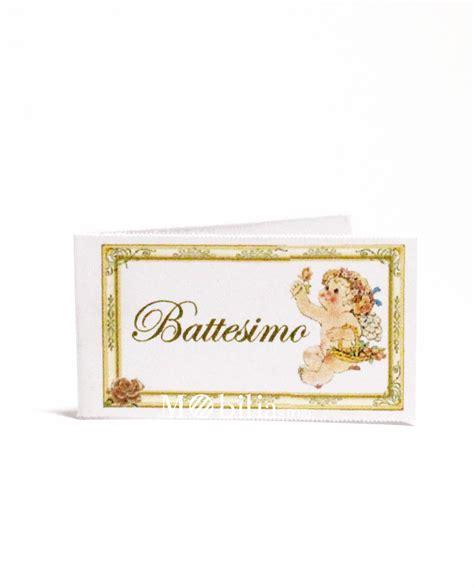 cornice battesimo bimbo bigliettini bomboniere battesimo angioletto set 10 pz