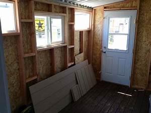 my new shop lampwork etc With 7x12 garage door