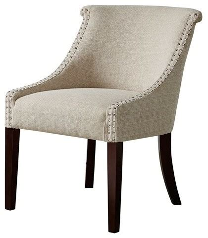 caitlyn roll back accent chair contemporary