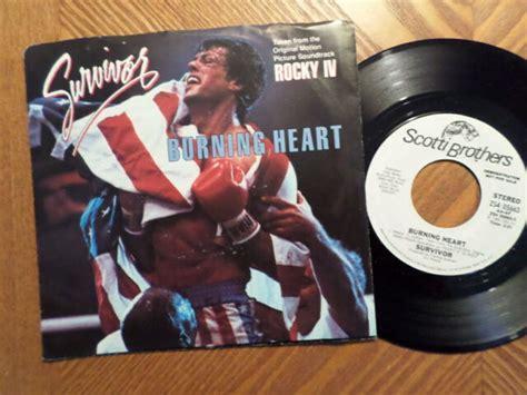 PROMO SCOTTI BROS 45 RECORD W/PS/SURVIVOR/BURNING HEART ...