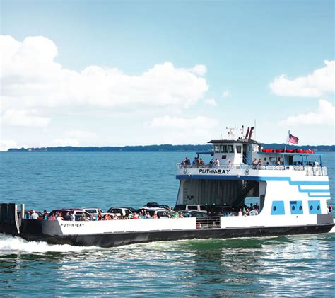 Car Parking Hull Ferry by Put In Bay Ferry Boats Put In Bay Chamber Of Commerce