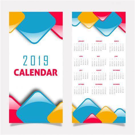projeto calendario baixar vetores gratis