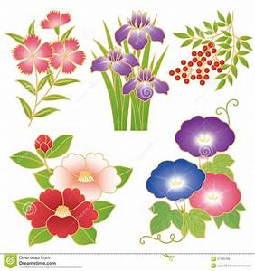 Chinese flowers stock vector. Image of asian, decorative ...
