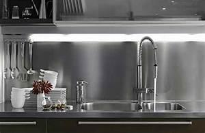 Plaque Décorative Pour Cuisine : nordlinger pro plaque composite alu pour cr dence de cuisine ~ Premium-room.com Idées de Décoration