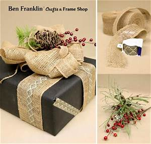 Ben Franklin Crafts and Frame Shop Creative Gift Wrapping