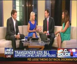 Fox News Hosts Shocked By Transgender Rights: 'I Can't Get ...