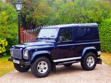 blue land rover used loire blue land rover defender for sale essex