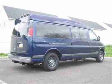 best car repair manuals 2001 chevrolet express 3500 head up display purchase used 2001 chevy express 3500 passenger handicap wheelchair lift hi top only37k clean in