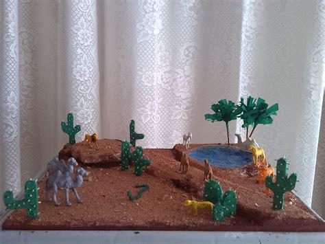 pin by anyesca serj on maqueta ecosistema desierto animal habitats