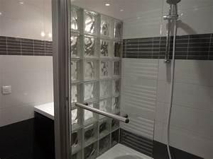 brique de verre cuisine perfect brique de verre cuisine u With carreaux de verre pour salle de bain