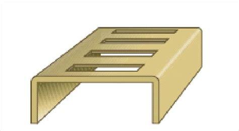 Bookcase Shelving Strips by Adjustable U Bookcase Strips Vari Shelf Shelving