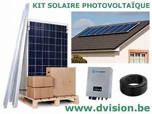 Kit Panneau Solaire Autoconsommation : kit solaire autoconsommation panneau solaire ~ Premium-room.com Idées de Décoration