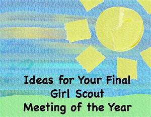 girl scout cookie meeting ideas