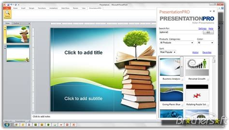 download template powerpoint 2007 free