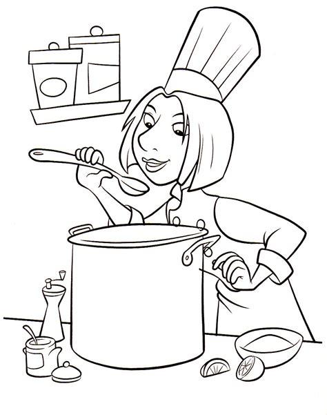 dessins cuisine 79 dessins de coloriage cuisine à imprimer sur laguerche