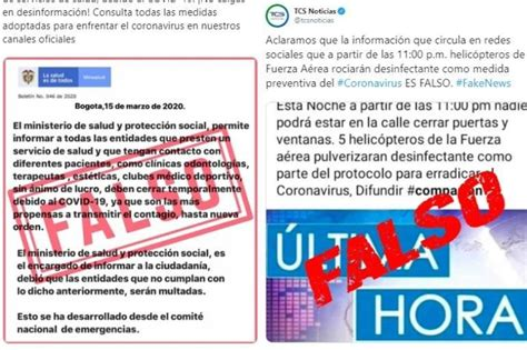 Coronavirus: El top de noticias falsas - Salud - ELTIEMPO.COM