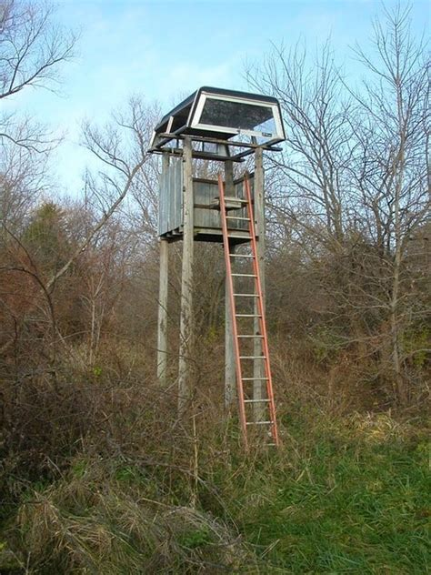10 Hillbilly Deer Stands That Are The Definition Of ...