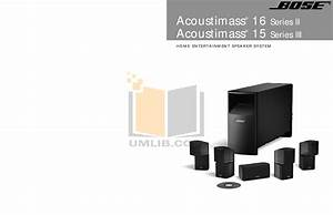 Download Free Pdf For Bose Acoustimass 16 Series Ii