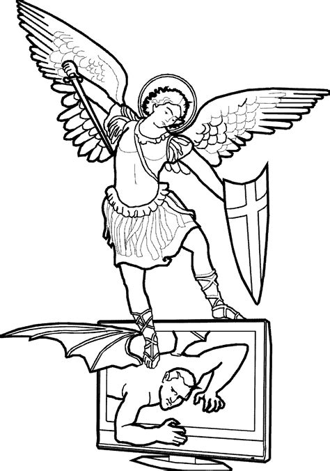 St michael clipart - Clipground