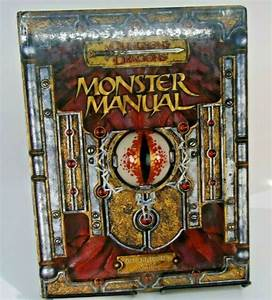 Dungeons And Dragons Monster Manual Core Rulebook Iii V 3