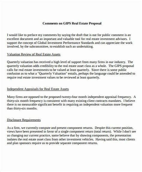 real estate proposal template    images