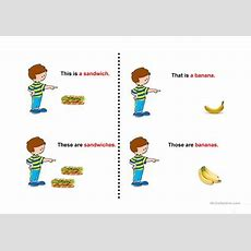 Demonstrative Pronouns Worksheet  Free Esl Projectable Worksheets Made By Teachers