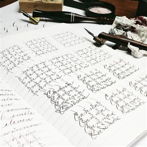 """Cursive writing is like the fingerprint of a person always unique and never identical to. """"Tonight's dizzy. Tamblyn, you made me down that coffee ..."""