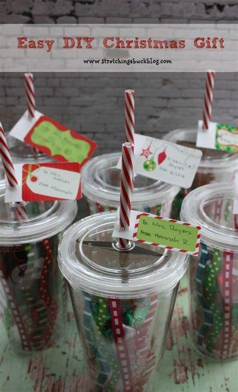 easy diy christmas gift idea teacher gifts easy diy
