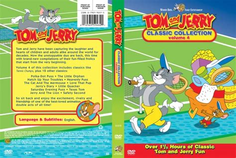 tom and jerry classic collection volume 4 dvd covers labels by covercity