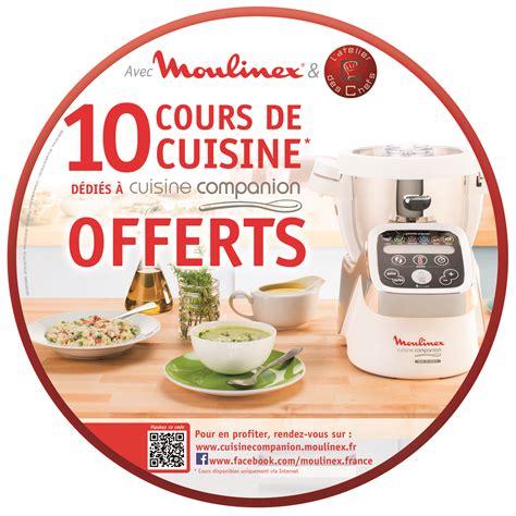 cours de cuisine en groupe moulinex offre des cours de cuisine en ligne petit