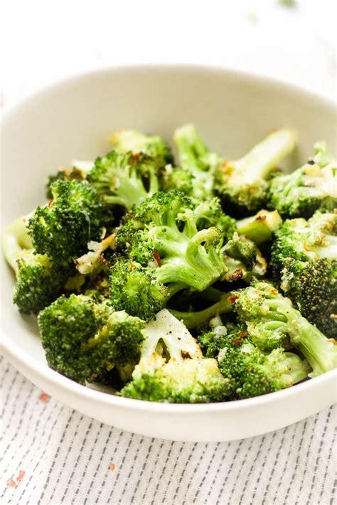 broccoli fryer air parmesan happy veggie