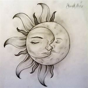 Sun And Moon Tattoo Designs | sun and moon tattoo design ...