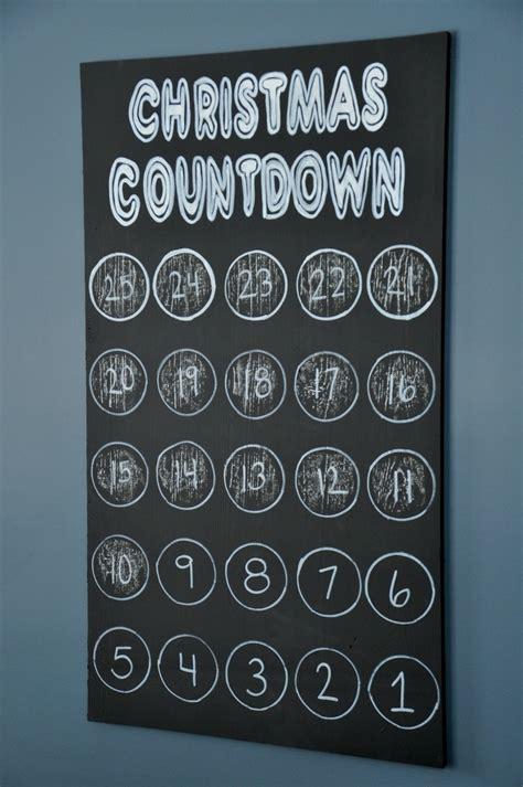christmas countdown art dare to deck the halls decor