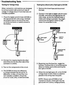 How To Do Basic Electrical Troubleshooting Tests  Diagrams