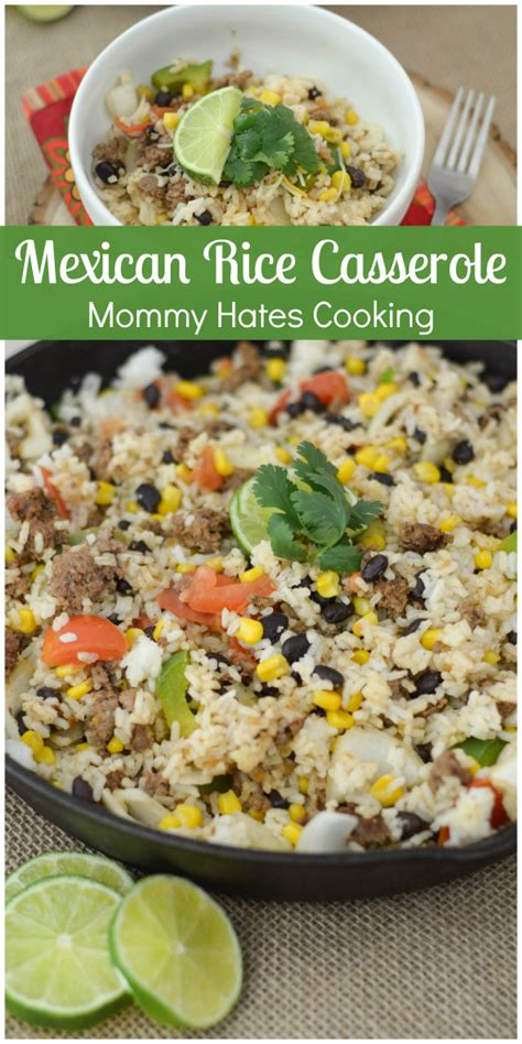 mexican rice casserole cinco de mayo recipes mommy